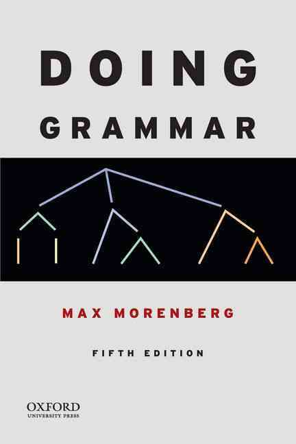 Doing Grammar By Morenberg, Max